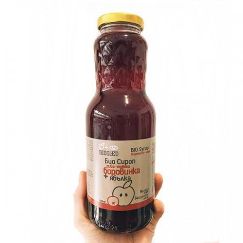 Сироп от червена боровинка /без захар, био/ 'BIOGLED', 1000 ml