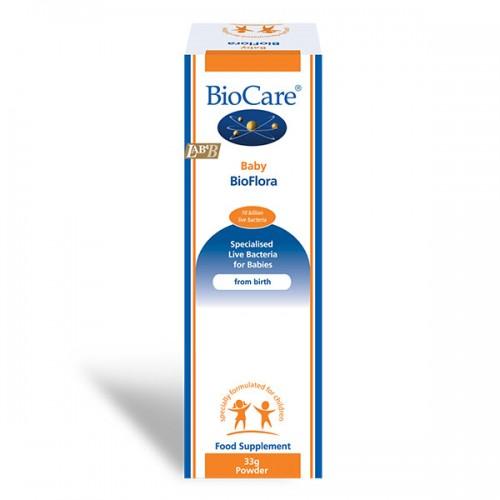 Детски пробиотик Baby BioFlora / Бейби Био-флора, подходящ за новородени от първия ден след раждането 'BioCare', 33 г