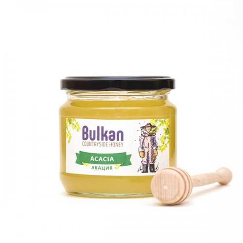 Ароматен селски мед от акация 'Bulkan' от района на гр. Тервел, 500 г