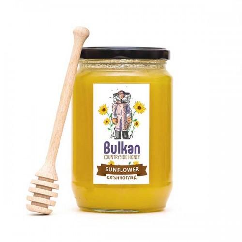 Чист слънчогледов мед 'Bulkan', 1 кг.