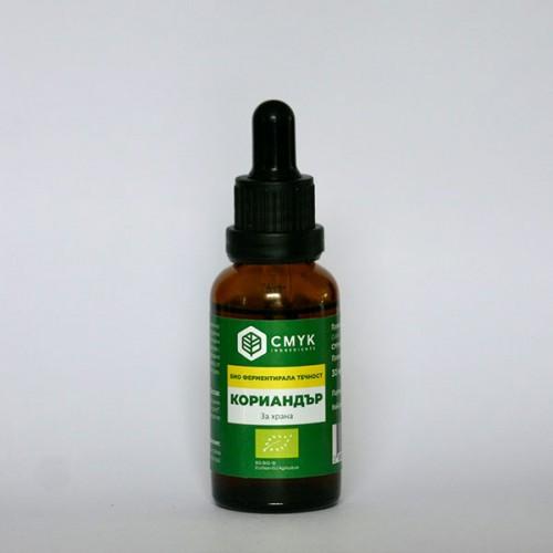 Кориандър /био/ - течна ферментирала подправка 'CMYK Ingredients', 30 мл