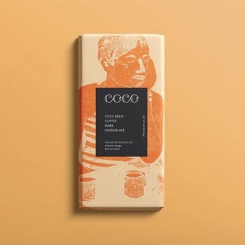 Черен шоколад 61% с кафе Cold Brew Coffee 'COCO CHOCOLATIER'