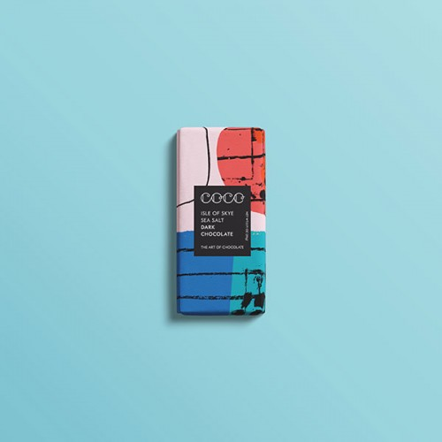 Черен шоколад 61% с морска сол 'COCO CHOCOLATIER'