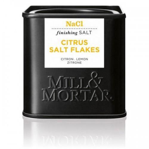 Цитрусова сол на люспи с лимонена мащерка 'MILL&MORTAR', 70 г