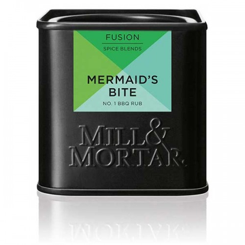 Микс от подправки Mermaid's bite за риби и зеленчуци на грил /био/ 'MILL&MORTAR', 50 г