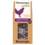 Черен чай English breakfast 'TEAPIGS', 15 биоразградими торбички /пирамидки/