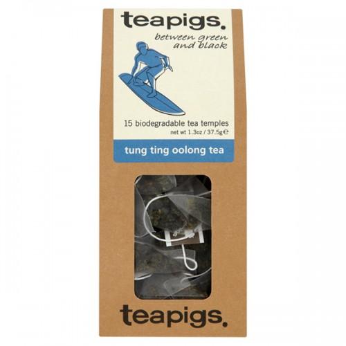 Оолонг чай Tung Ting 'TEAPIGS', 15 биоразградими торбички /пирамидки/