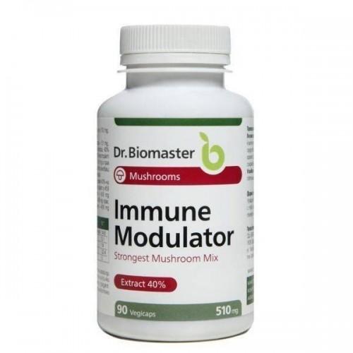Смес на екстракти от 6 лекарствени гъби /плодно тяло, екстракт 40% полизахариди/ ИМУНО модулатор 'Dr.Biomaster', 90 капсули