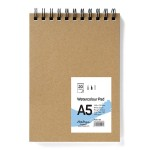 Тефтер за водни бои A5 / 20 листа бял картон 250 g/m2, Drasca