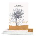 Скицник 'Flower' Слънчоглед 14.5*21 cm 80 листа 100 g/m2, Drasca