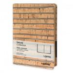 Скицник с корици от микрофибърна кожа LENWA 'Natural Collection' 12.8*18.8 cm 160 листа, Drasca