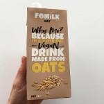 Овесено мляко без глутен и без захар 'FOMILK', 1 л