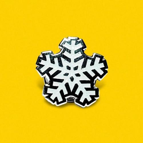 Значка 'Снежинка' по дизайн на GloryArt / Creative Goodie