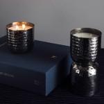 Ароматна свещ с 2 фитила в специална лимитирана серия метални съдове 'I-TEMS'