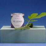 Ароматна свещ 05 / FIG LEAVES с ухание на зелени смокини и етерично масло от евкалипт с дизайн от Розалина Буркова 'I-TEMS'