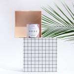 Ароматна свещ 01 / ROSE с етерично масло от Петригрен и 100% памучен фитил, I-TEMS