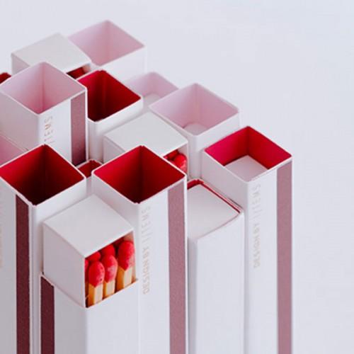Кибрит със скрито послание и 15 дълги дървени клечки, I-TEMS