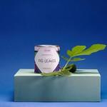 Ароматна свещ 05 / FIG с ухание на зелени смокини и етерично масло от евкалипт с дизайн от Розалина Буркова, I-TEMS