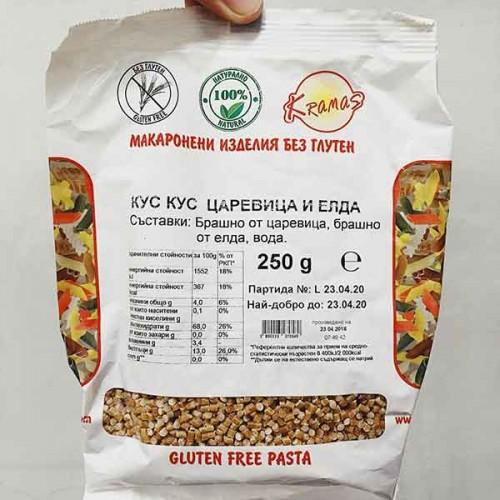 Кус-кус от ориз и елда /безглутенов/ - готов за 6-8 минути 'Крамас', 250 гр.