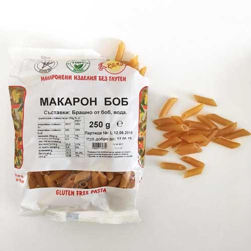 Безглутенови макарони от боб /готови за 6-8 минути/, 250 гр.