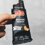 Бадемов протеинов бар, покрит с черен шоколад /веган, без глутен, био/ Leya's Activus, 50г