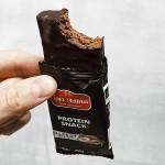 Лешников протеинов бар, покрит с черен шоколад /веган, без глутен, био/ Leya's Activus, 50г