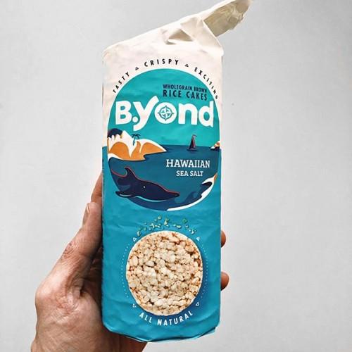 Оризовки с Хавайска морска сол /кафяв ориз, веган, без глутен/ 'Byond', 100 г