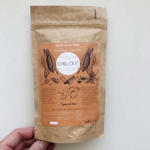 Какаов чай с масала подправки 'Chocolate Chai Chill out Latte' /веган, без глутен, без добавена захар/, 100 г