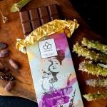 Функционален млечен шоколад /веган/ и CO2 био екстракти от Мурсалски чай и Липа 'MURSALA Chill Out'
