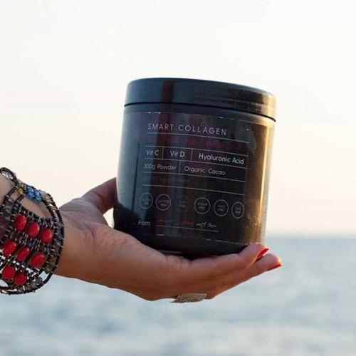 Smart Collagen - хидролизиран телешки колаген, хиалуронова киселина, витамин С и витамин D, 300 г