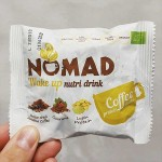 Разтворима протеинова напитка с кафе Арабика, Гуарана и Лупин протеин 'NOMAD nutri Wake Up'