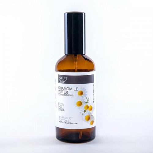 Флорална вода от лайка римска /първичен дестилат/ в стъклена бутилка със спрей помпа 'NatureBase', 100ml