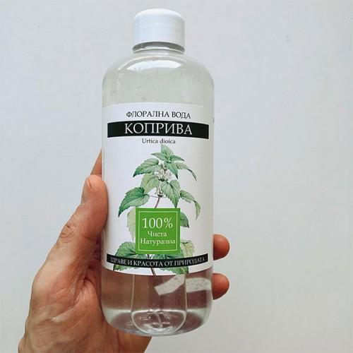 Флорална вода от коприва 'NatureBase', 500 мл