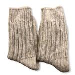 Чорапи от 100% мерино вълна - бежови 'INTER BLANKET'