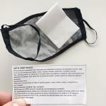 Защитна маска за лице със сменяем филтър при мръсен въздух, полени и вируси