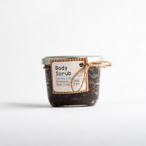 Скраб за тяло с кафе и ванилия 'PlantOn' /без пластмаса и палмово масло/