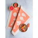 Памучна кърпа от 100% суров памук в луксозна картонена опаковка /розова/ 'Softer + Wild', 70х50см