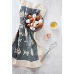 Памучна кърпа от 100% суров памук в луксозна картонена опаковка /сива/ 'Softer + Wild', 70х50см