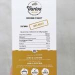 Ригатони от нахут /без глутен/, богати на растителни протеини 'Variva', 250 г
