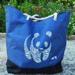 Чанта с дръжки от въже /непромокаема/ - стани дарител на WWF България