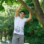 Мъжка тениска на WWF от 100% органичен памук - стани дарител на WWF България