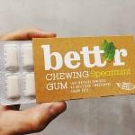 Дъвки без захар на 100% растителна основа с мента /веган/ bett'r, 12 дражета