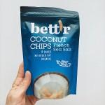 Кокосов чипс с морска сол /био, печен, веган/ bett'r, 70 г