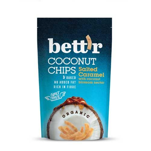 Кокосов чипс със солен карамел /печен/ БИО, bett'r