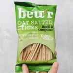 Солети от 43% овесено брашно с босилек и риган /био, печени в кокосово масло/ bett'r, 50г