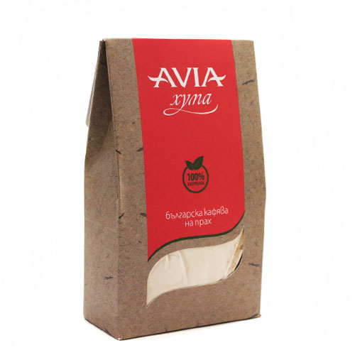 Кафява хума /на прах/ за Суха и Чувствителна кожа AVIA, 250 г