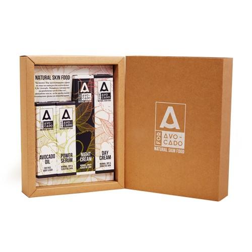 Дневен и нощен крем, серум и чисто масло - Серия натурална козметика с масло от Авокадо, A for Avocado