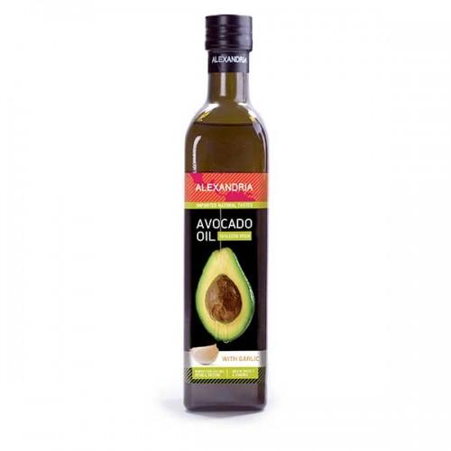Авокадово масло с чесново масло за готвене /кулинарно/ 'Alexandria', 250ml