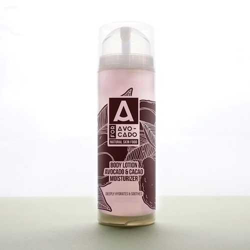 Лосион за тяло с Авокадово масло, Алое Вера, Какао и аромат на Кафе и Ванилия 'A for Avocado', 150ml