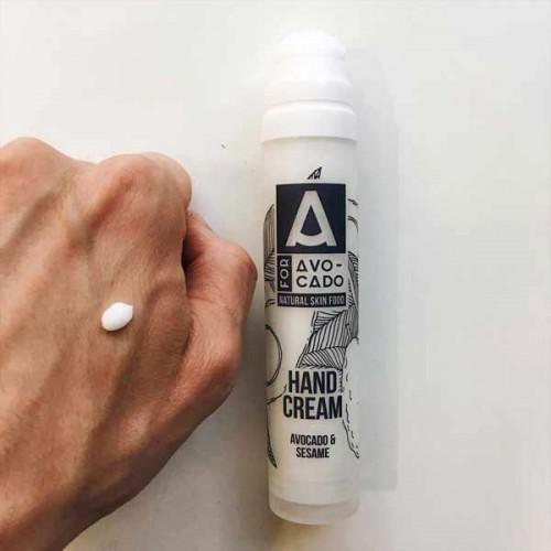 Крем за ръце с авокадо и сусамово масло с лека текстура и нежно ухание на липа 'A for Avocado', 50 мл